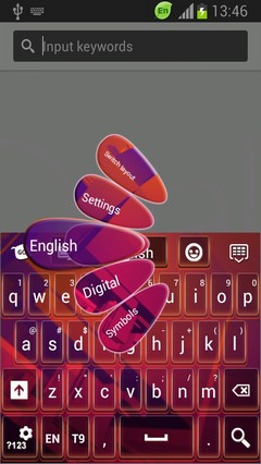Keyboard for HTC One