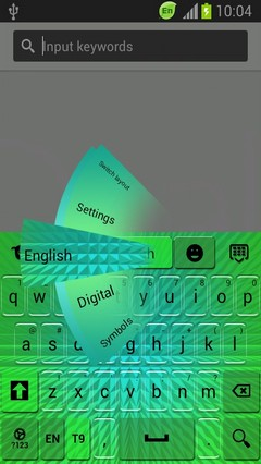 Keyboard for Samsung Galaxy Rugby Pro