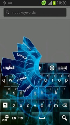 Abstract Sphere Keyboard