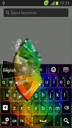 Rainbow Sphere Keyboard