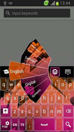 Keyboard for HTC One S