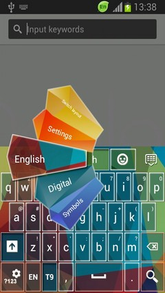 Keyboard for HTC One Max
