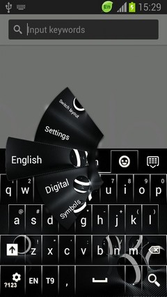 HD Abstract for S5 Keyboard