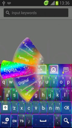 Night Rainbow Keyboard