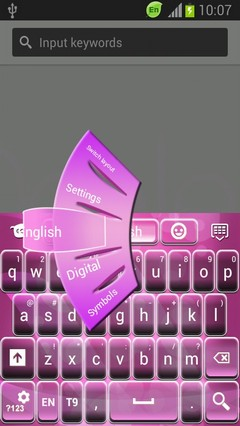 Theme Keyboard Pinky
