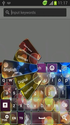 Android Theme Keyboard