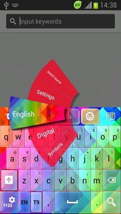Abstract Colors Keyboard