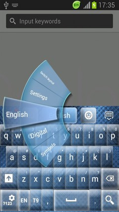 Glass Keyboard Free