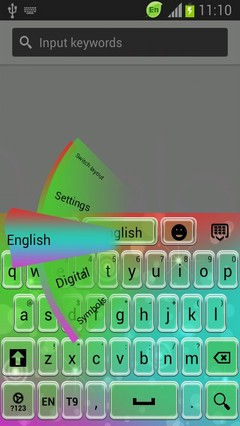 Abstract Keyboard