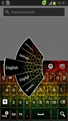 Abstract Mosaic Keyboard