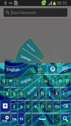 Abstract Waves Keyboard