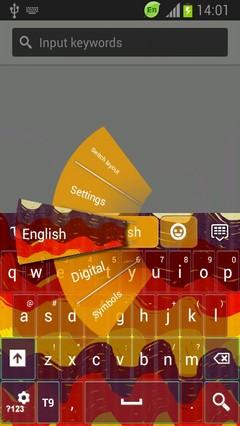 Color Waves Keyboard