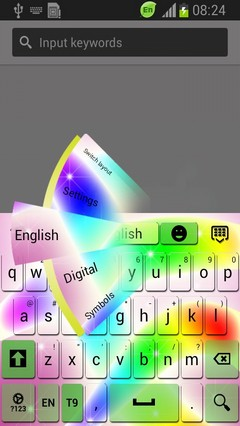 Rainbow Waves Keyboard