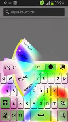 Rainbow Waves Keyboard