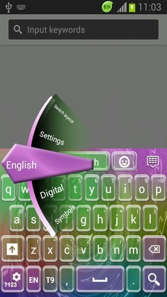 Theme for Android Keyboard