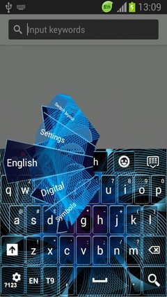 Free Digital Waves Keyboard