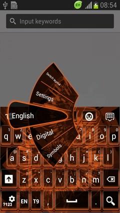 Three Dimensional Keyboard