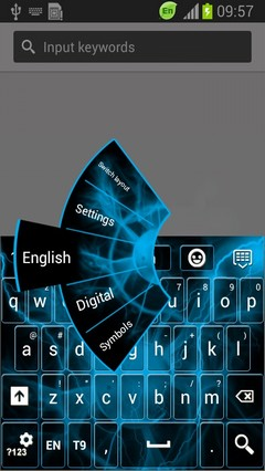 Energetic Flow Keyboard