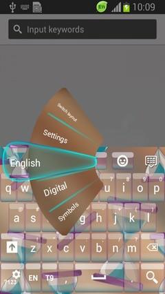 Clepsydra Keyboard