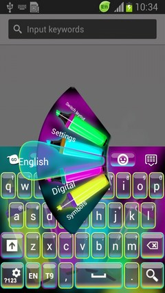 Neon Hightlighter Keyboard