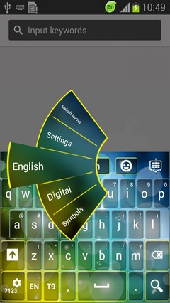 Translucent Keyboard