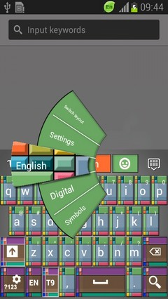 Color Tile Keyboard