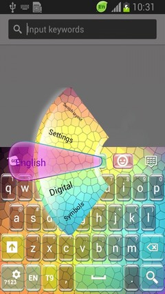 Color Mosaic Keyboard