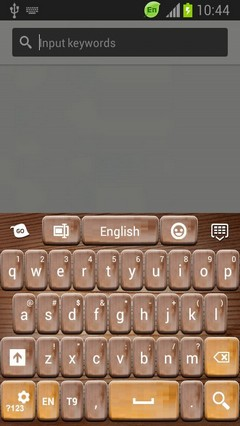 GO Keyboard Wood Theme