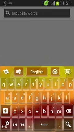 GO Keyboard Keys Color