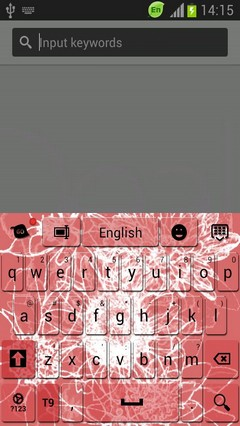 Free Abstract Flower Keyboard