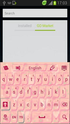Girly Pink Keyboard
