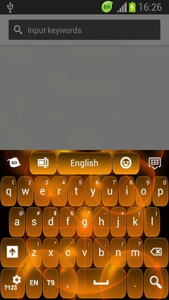 GO Keyboard Neon Orange Free
