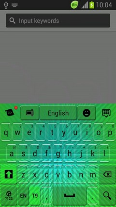 Keyboard for Galaxy Rugby Pro