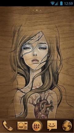 Wooden Girl