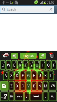 Neon Christmas GO Keyboard