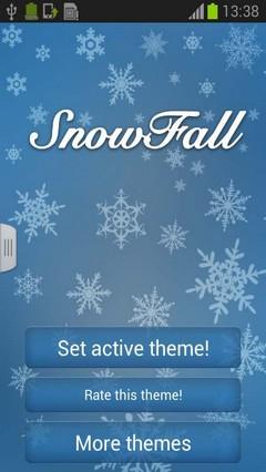 Snowfall Keyboard Free GO