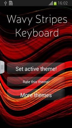 Wavy Stripes Keyboard