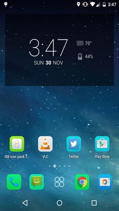 iOS8 Skin Pack Android Launcher Theme