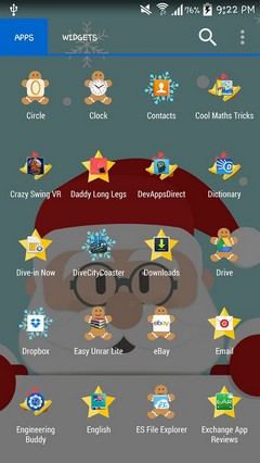 Christmas Icons Theme HD