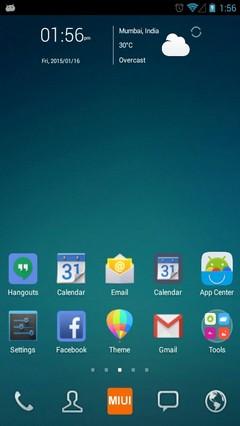 Xiaomi Redmi Note Pro Android Theme