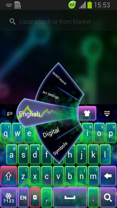 New Keyboard Theme