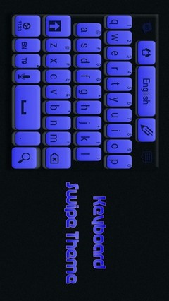 Keyboard Swipe Theme