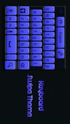 Keyboard Swipe Theme
