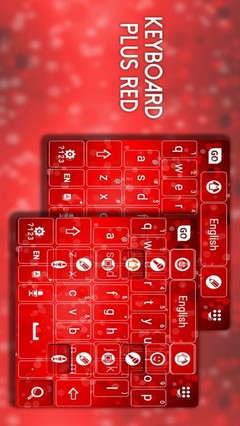 Keyboard Plus Red