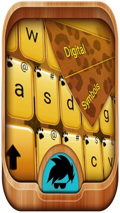 Gold Cheetah GO Keyboard