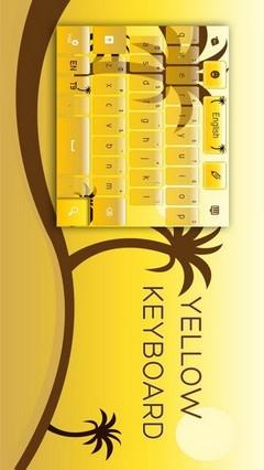 Yellow Keyboard App