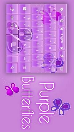 Purple Keyboard Girl Theme