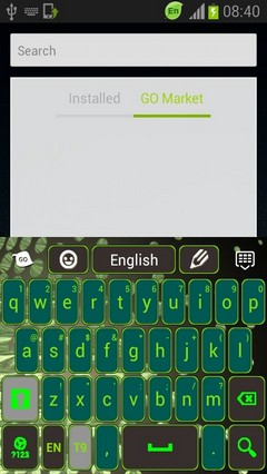 Green Light Keyboard
