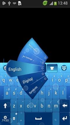 Blue Keypad