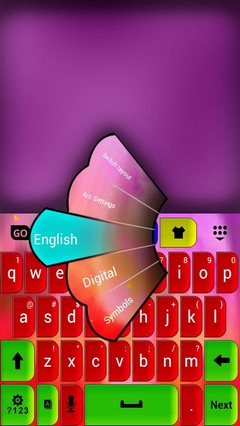 Keypad Color Skin